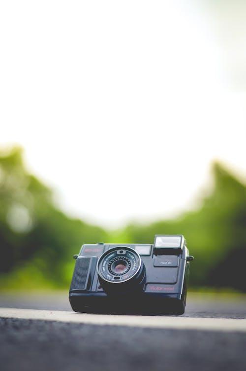 Foto profissional grátis de câmera, flash, instantâneo, macro