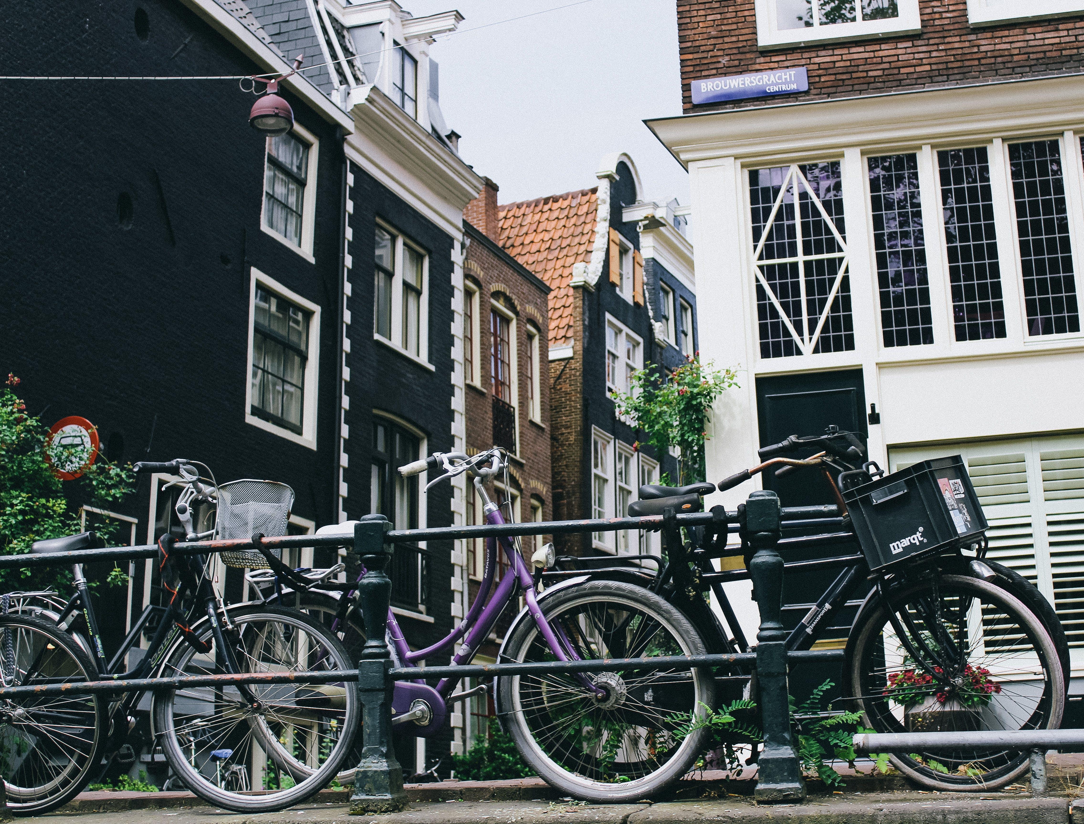 Free stock photo of amsterdam, amsterdam bike, classic amsterdam