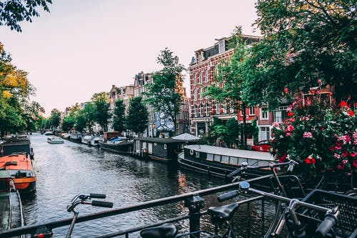 Foto stok gratis air, amsterdam, Arsitektur, bahtera