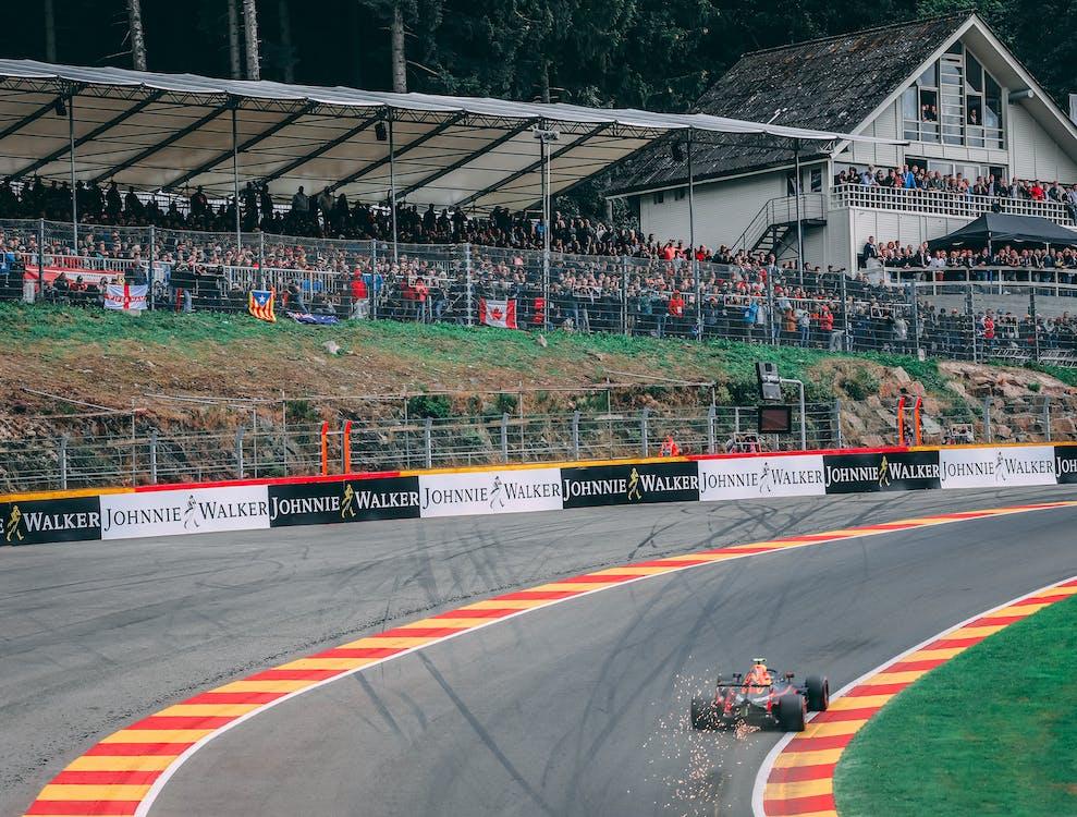 Free stock photo of Belgian Grand Prix, Eau Rouge, f1