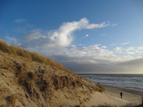 Free stock photo of sea, beach, clouds, island