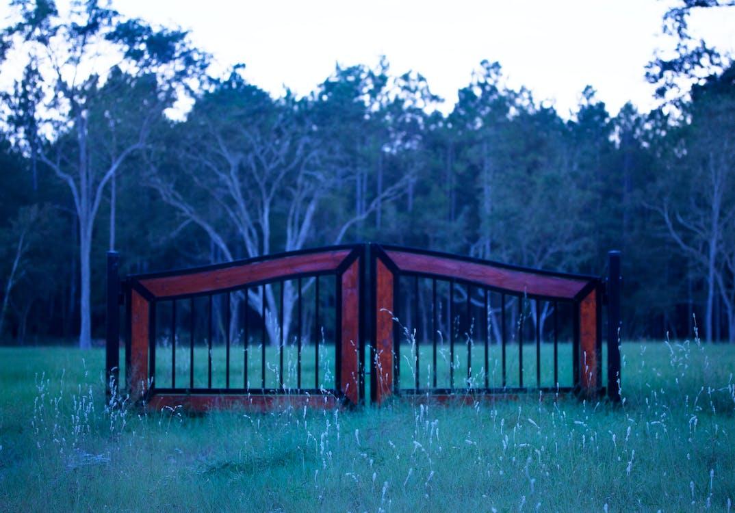 ウッドフェンス, ゲート, フェンス