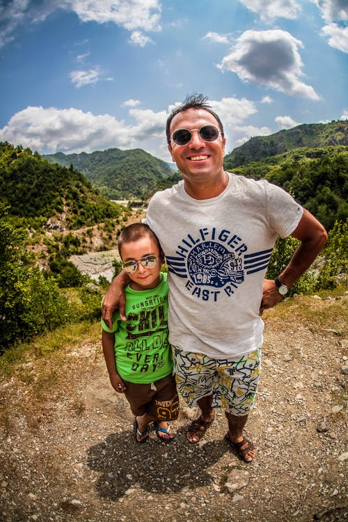 Δωρεάν στοκ φωτογραφιών με πατέρας και παιδί, τοπίο