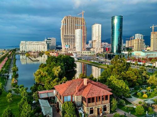 Gratis lagerfoto af by, landskab, sommer, udsigt over byen