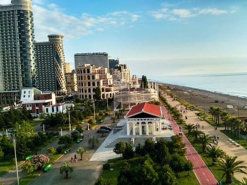 Fotos de stock gratuitas de ciudad, paseo marítimo, verano, vista de la ciudad