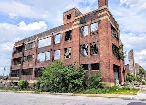 Fotobanka sbezplatnými fotkami na tému opustený, ruina, ruiny, továreň