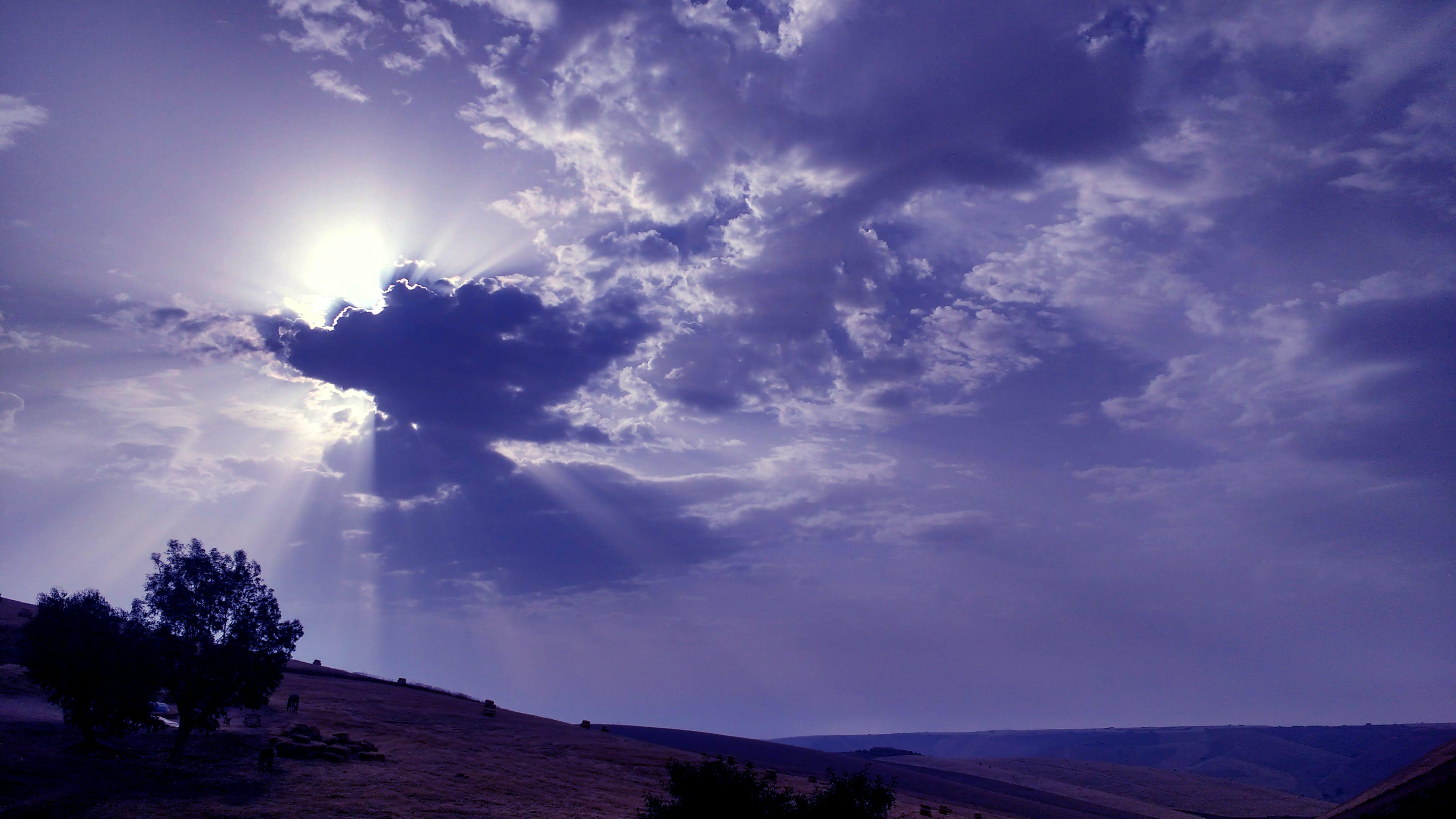Free stock photo of clear sky, golden sun, morning sun, morocco