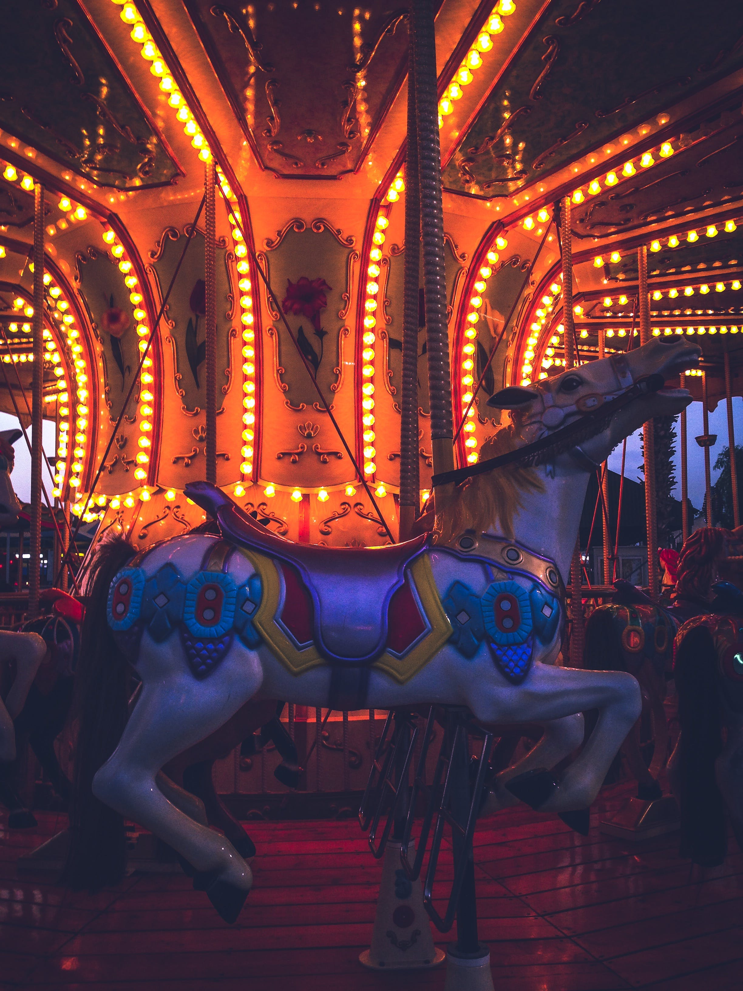 Free stock photo of amusement park, attraction, Bumper cars, carousel