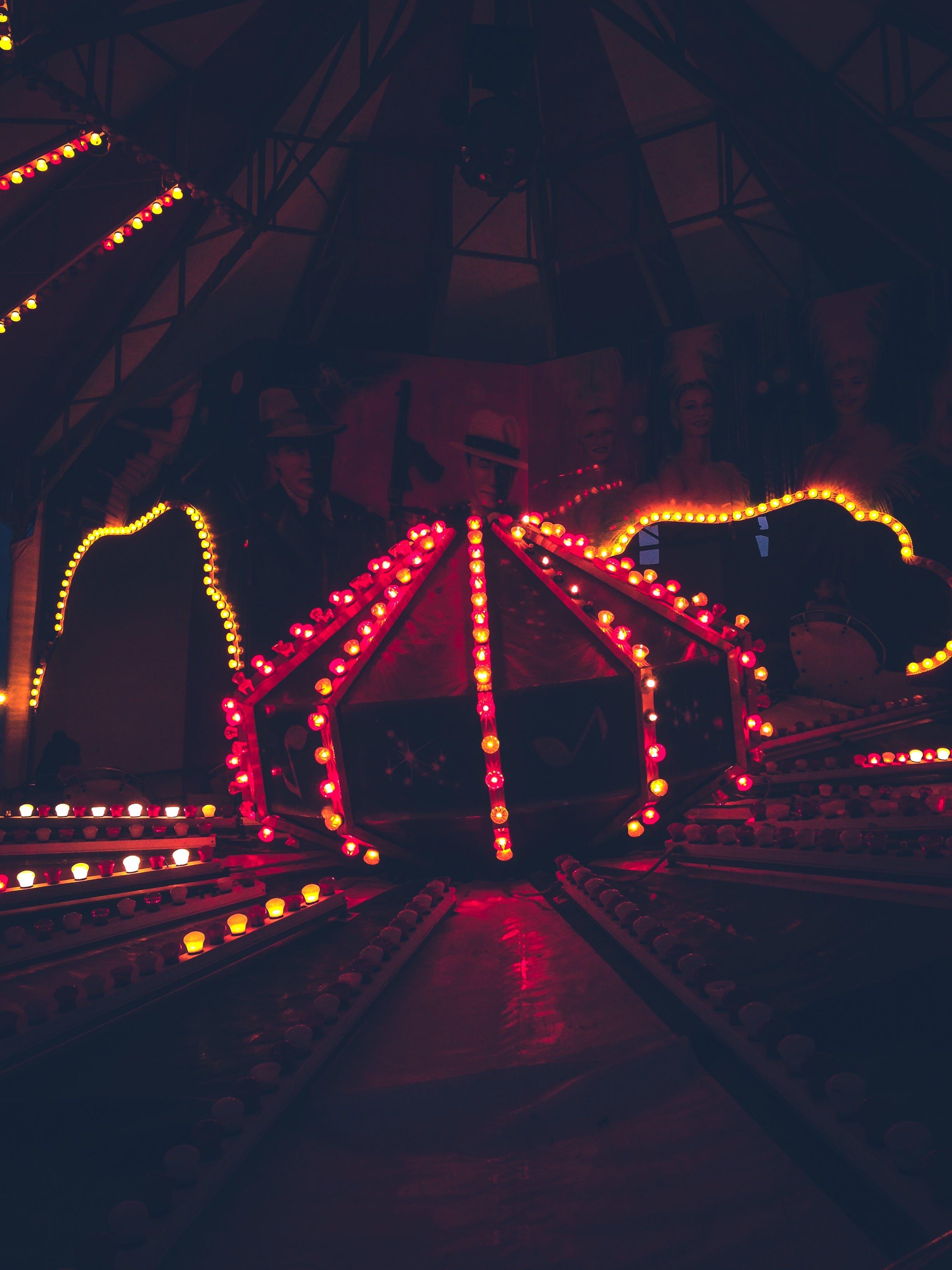 Free stock photo of amusement park, attraction, big wheel, Bumper cars