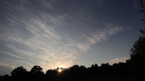 Ảnh lưu trữ miễn phí về bầu trời đêm, bình Minh, màu xanh da trời, những đám mây