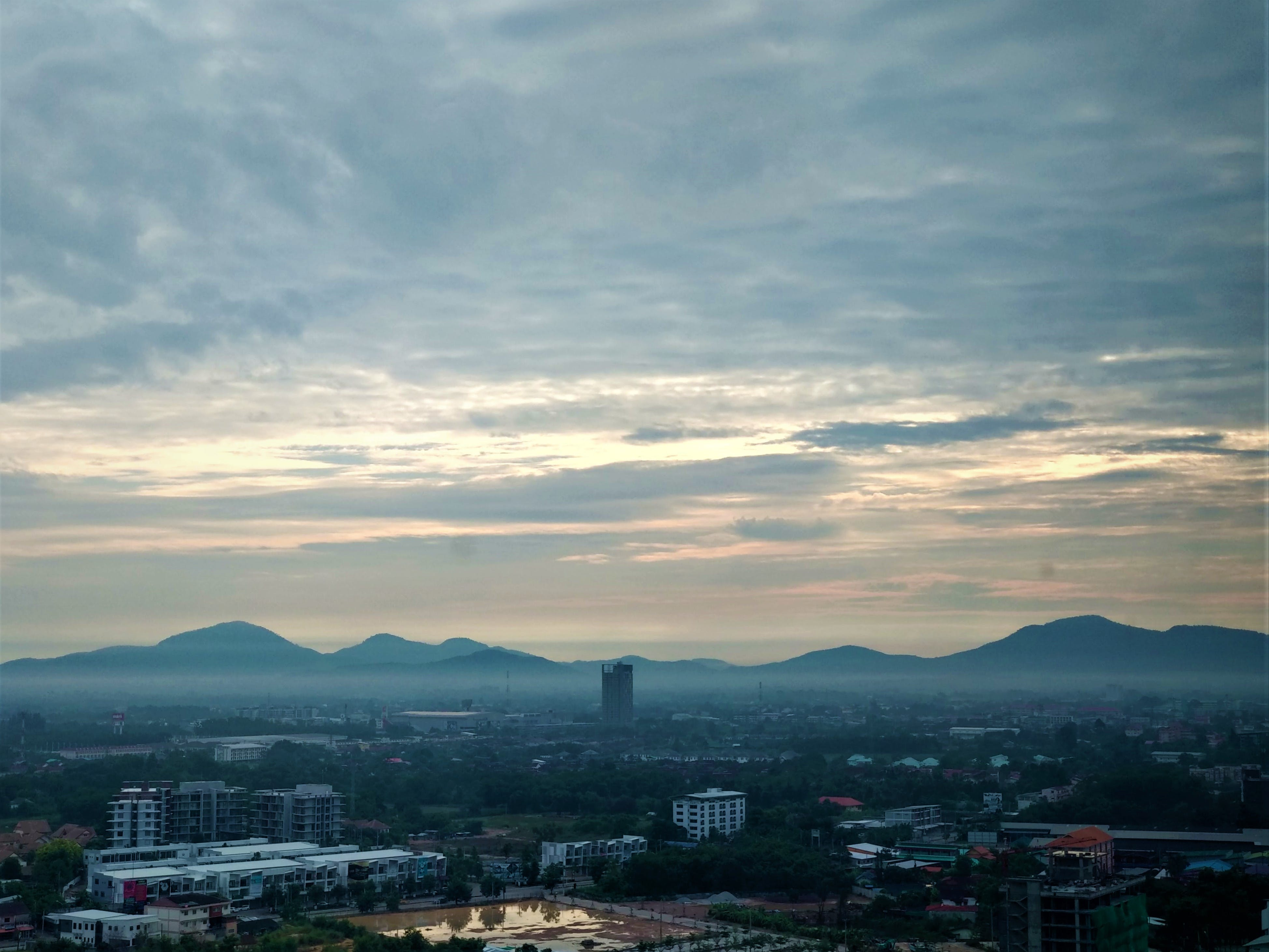 Free stock photo of blue sky, city, city scape, city view