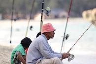 fishing, man, people