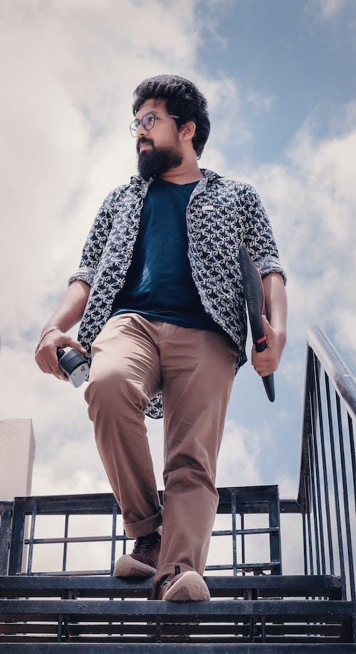 인도 남성, 패션의 무료 스톡 사진