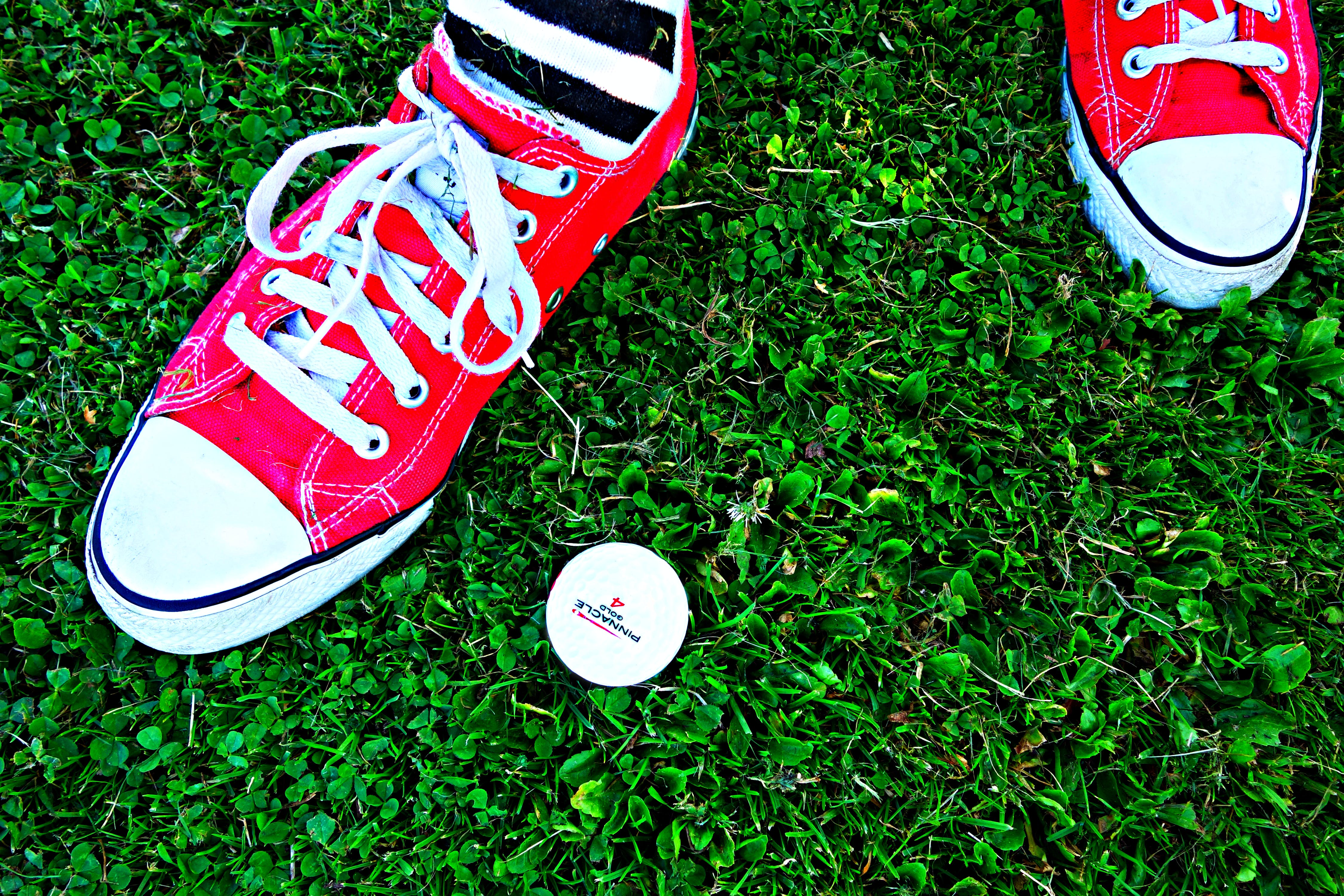 Free stock photo of grass, standing, foot, golf