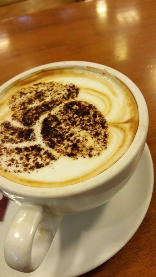 Free stock photo of caffeine, cappuccino, chocolate, coffee