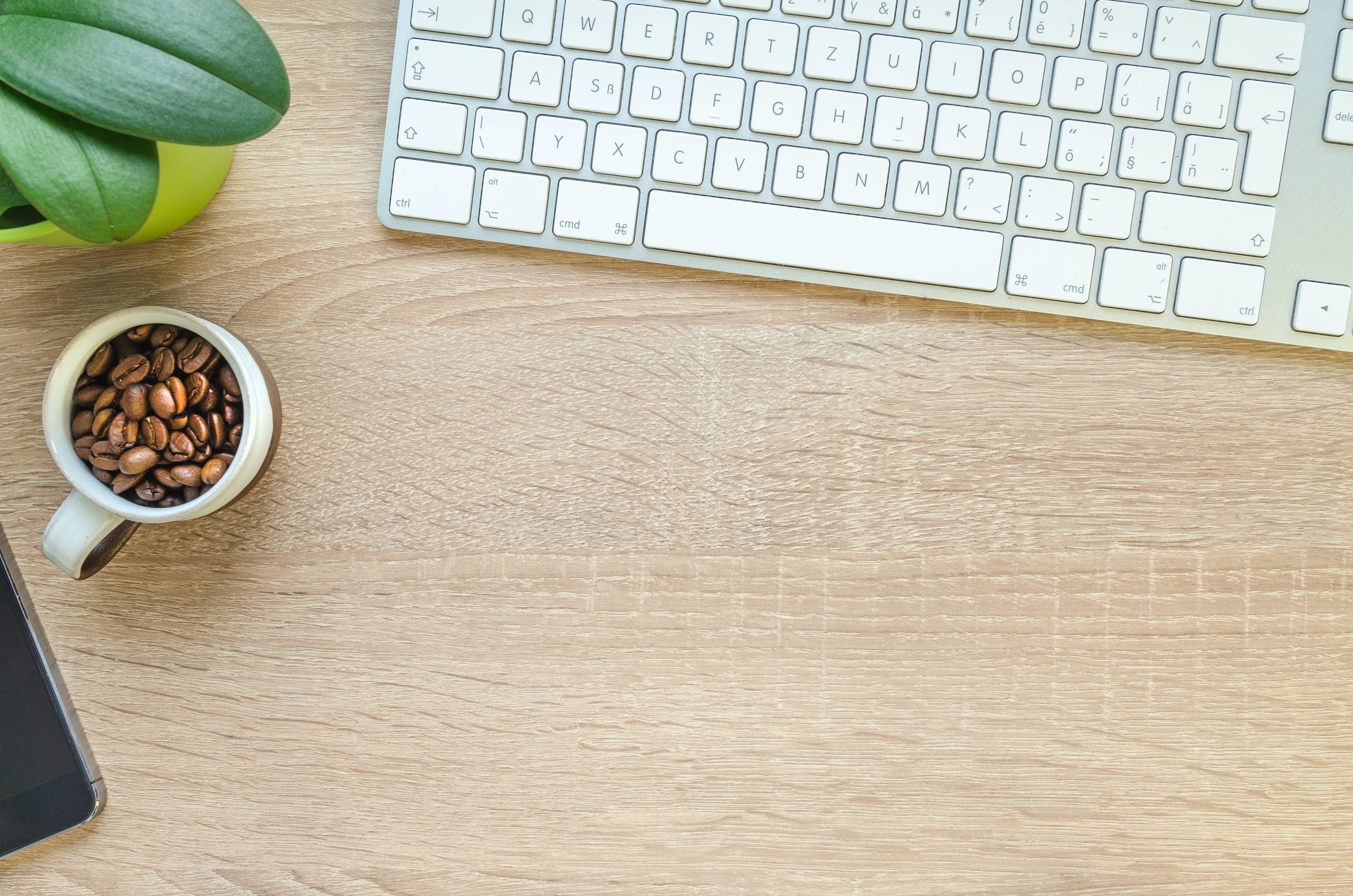 Coffee Beans in Mug