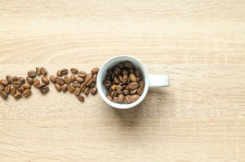 Coffee Beans in Mug