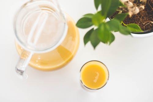 Kostenloses Stock Foto zu apfelsaft, gesund, getränk, glas