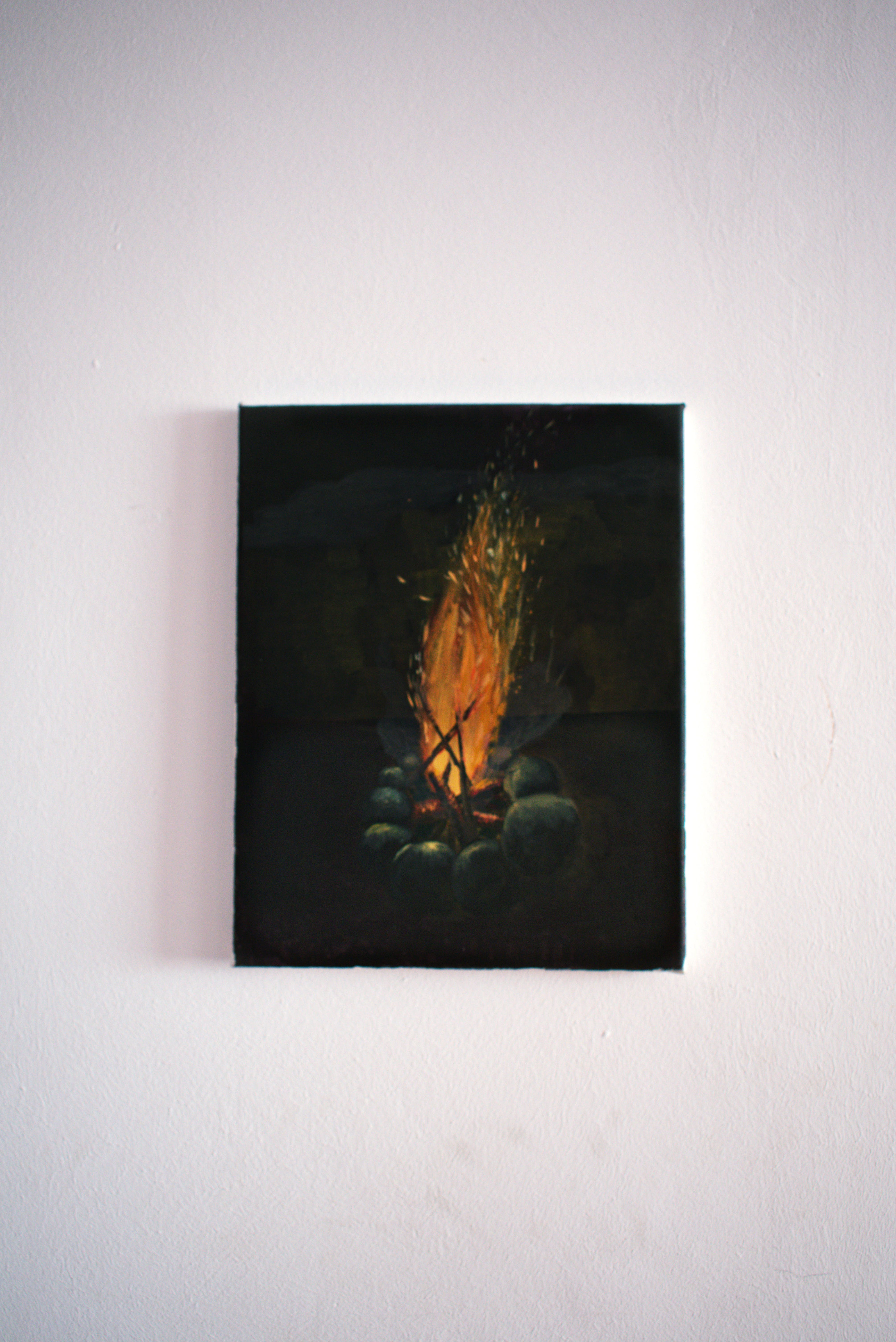 Bonfire Painting