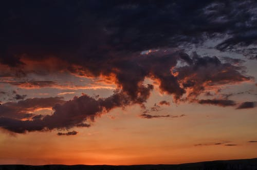 Free stock photo of clouds, sky, sunset