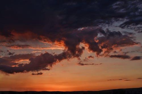Δωρεάν στοκ φωτογραφιών με δύση του ηλίου, ουρανός, σύννεφα
