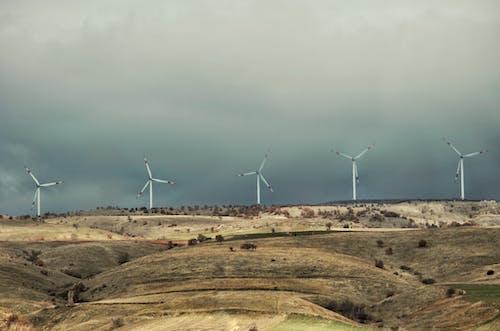 Free stock photo of wind turbine