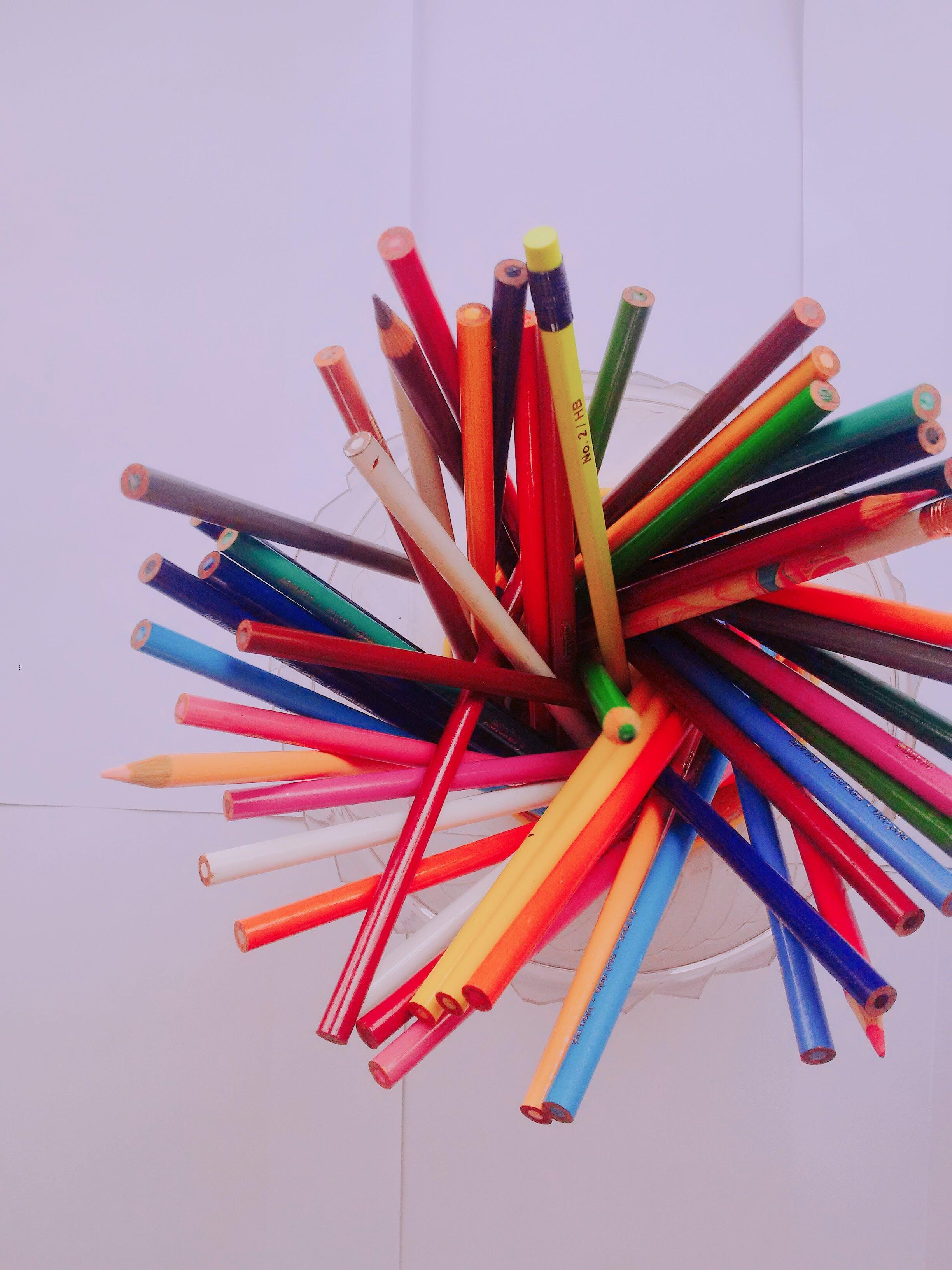 Free stock photo of C, crayons