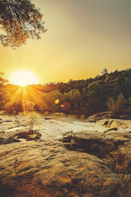 太陽, 太陽光線, 岩石