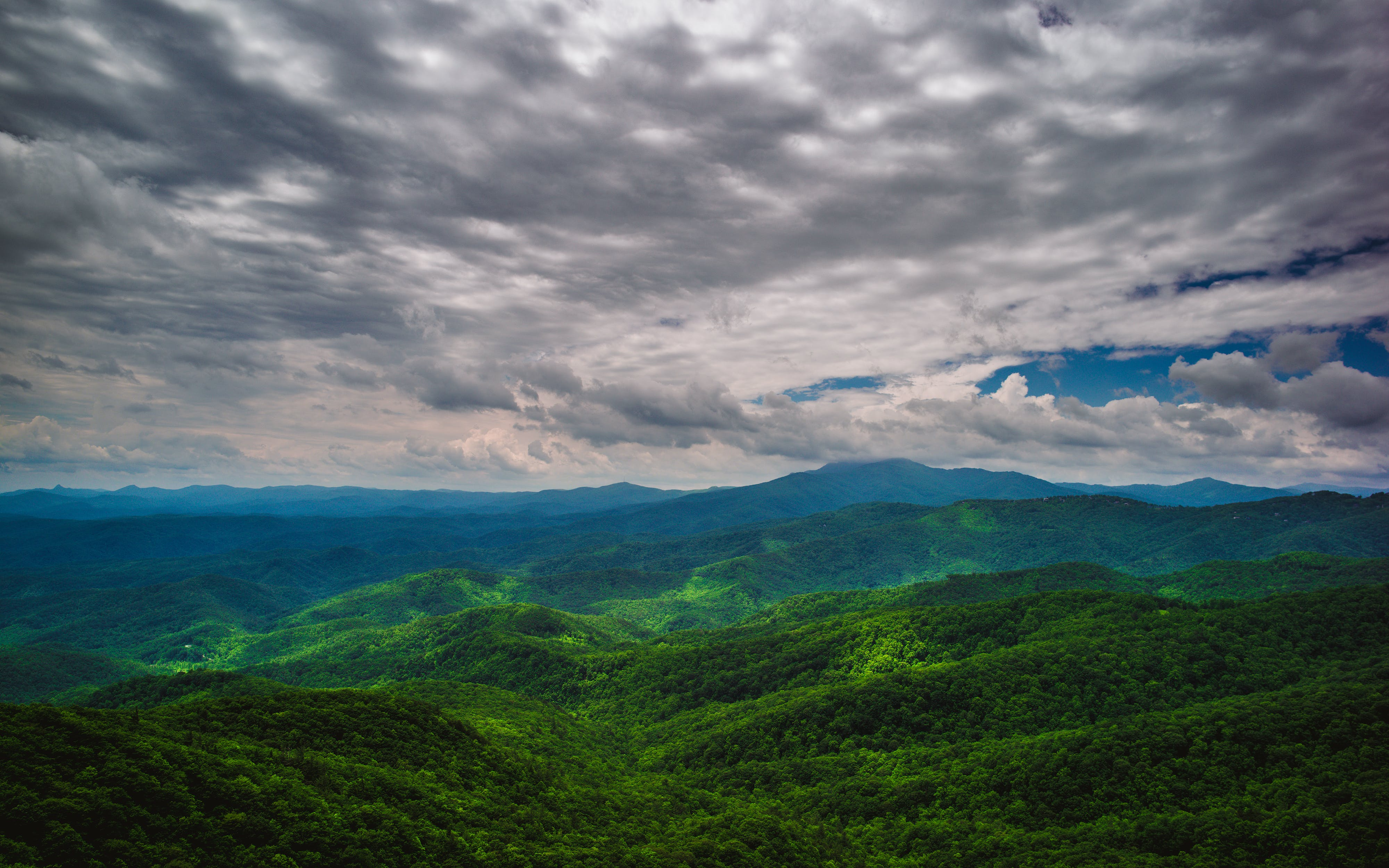 Bird's Eye View Photography of Mountain
