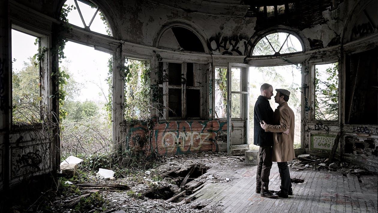 abandonat, adult, arhitectură