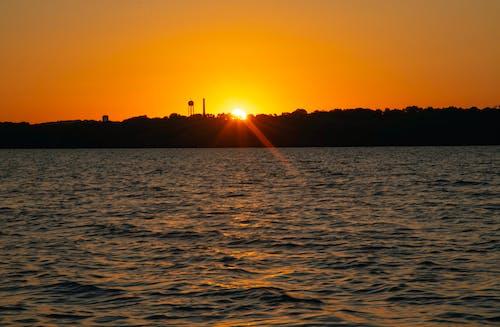 Photos gratuites de ciel, eau, lever de soleil, mer