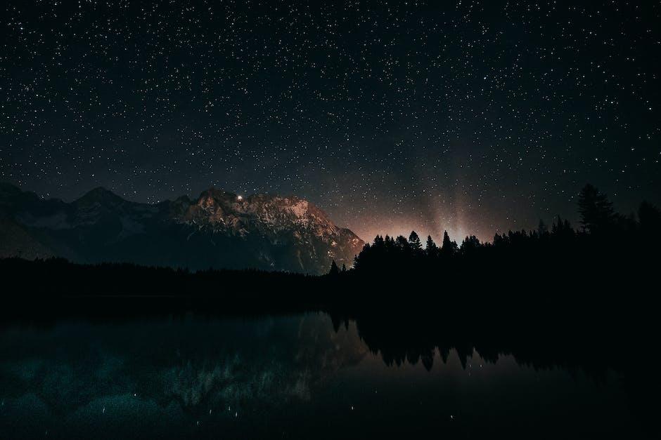 Photo of starry night