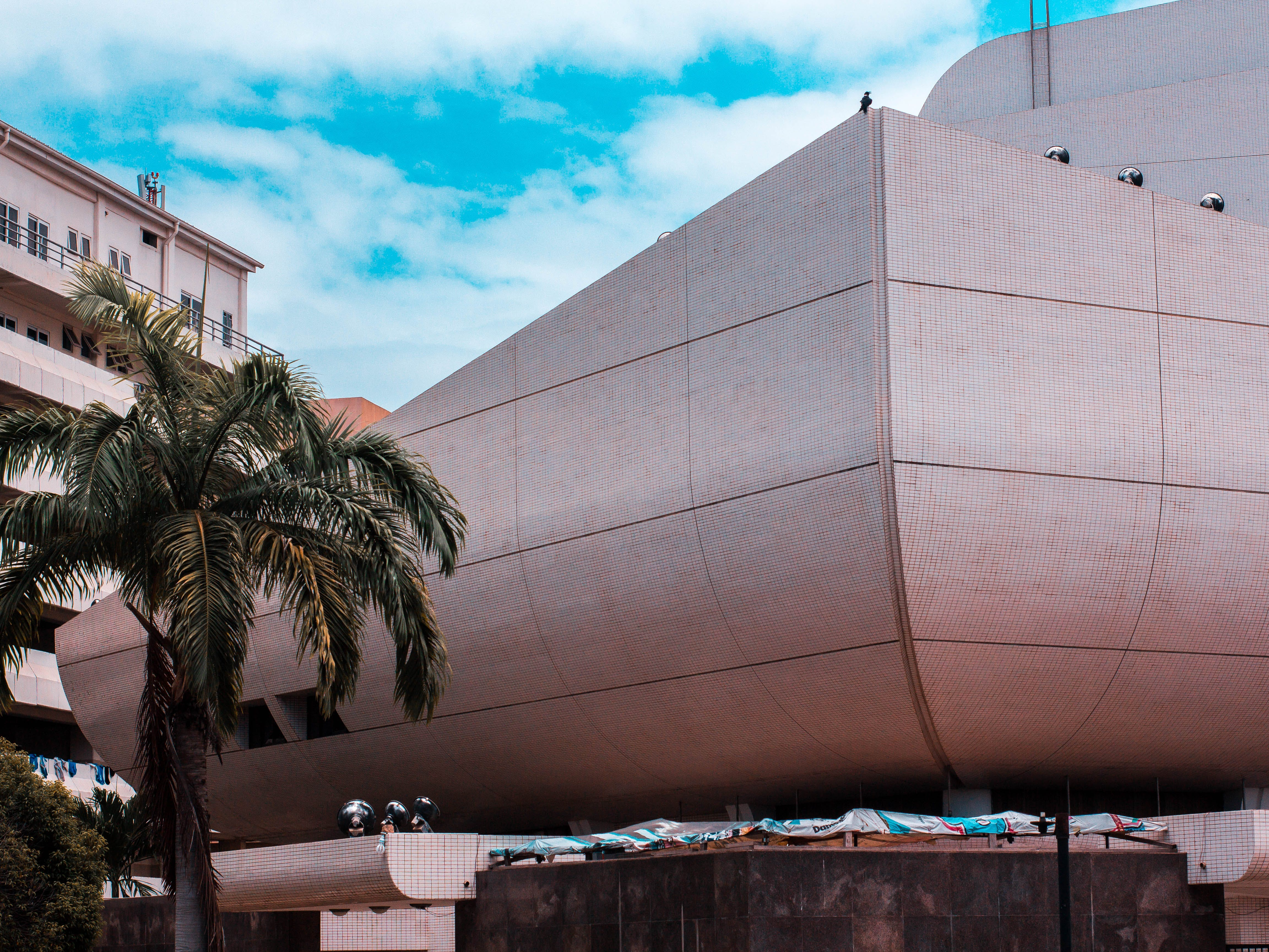 Δωρεάν στοκ φωτογραφιών με Αμφιθέατρο, αρχιτεκτονική, αστικός, γαλάζιος ουρανός