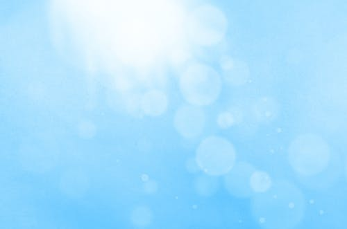 Free stock photo of background, blue, bright, bubble