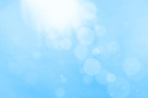 Immagine gratuita di azzurro, bianco, bolla, brillante