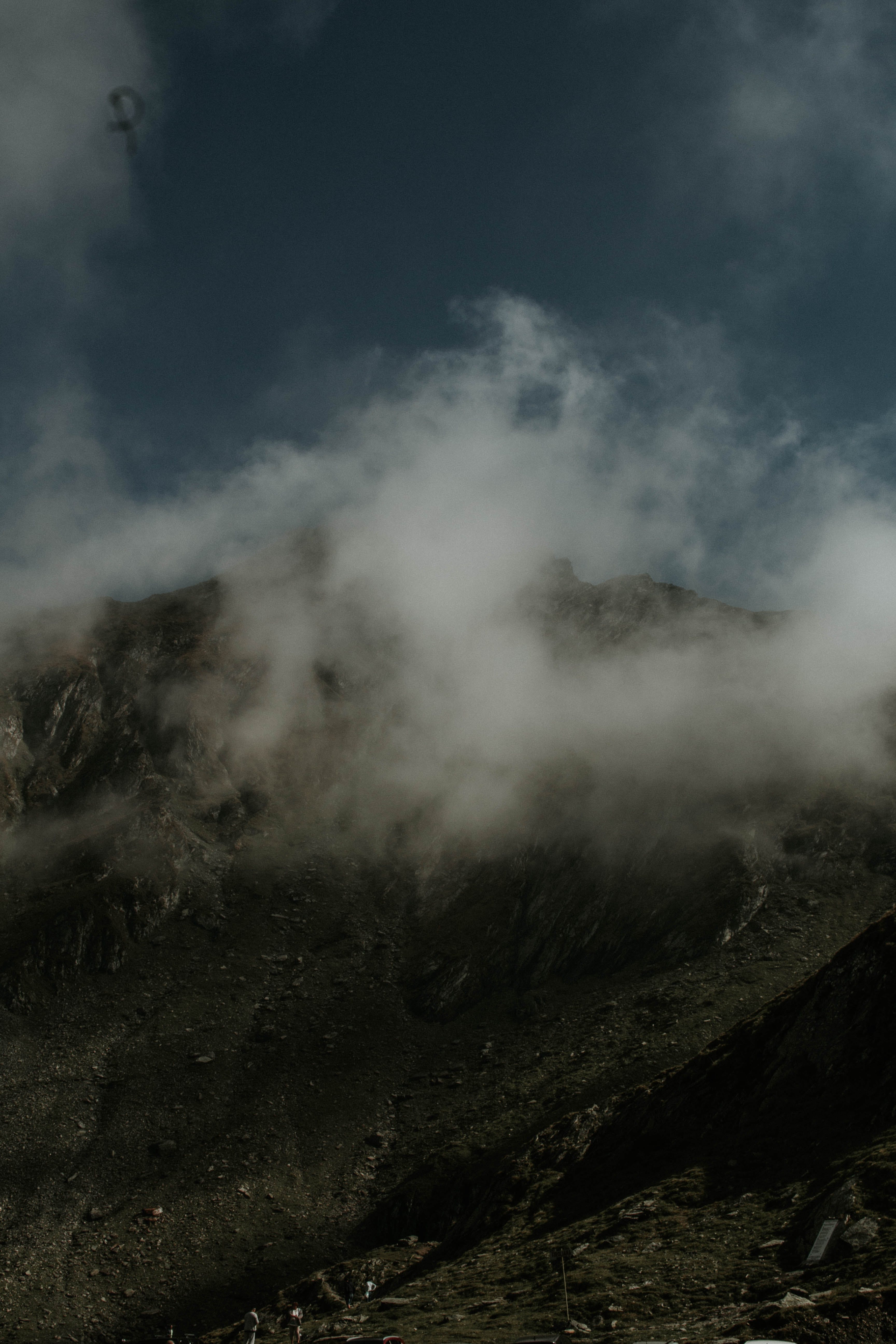 Kostenloses Stock Foto zu wolken, berg, nebel, erforschen
