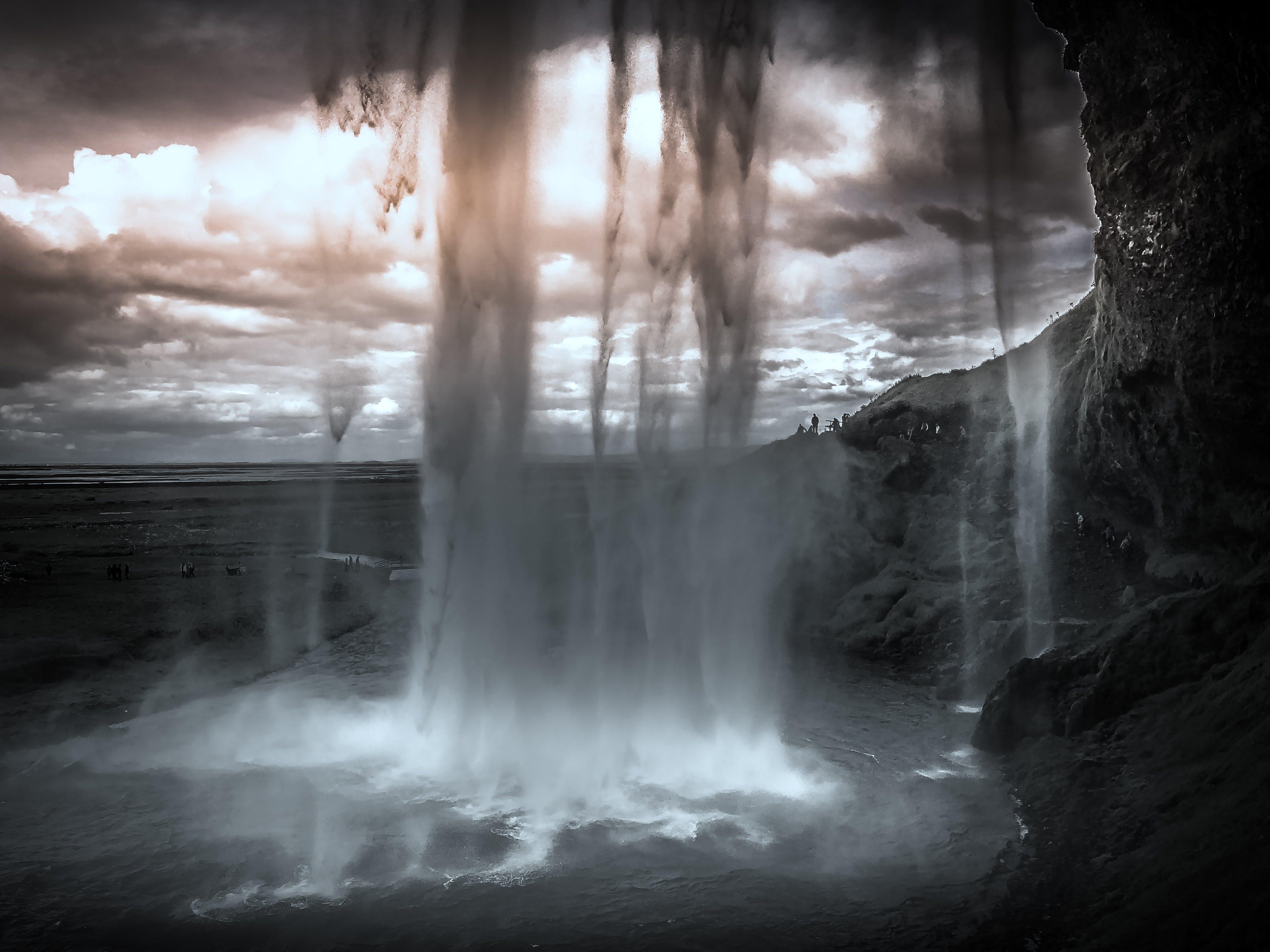 Gratis lagerfoto af foto, himmel, Island, klart vand