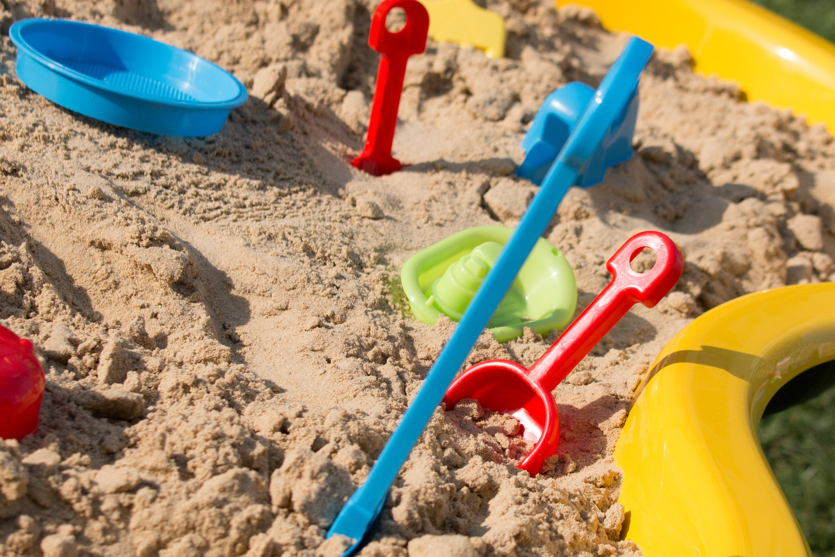 Free stock photo of sandpit