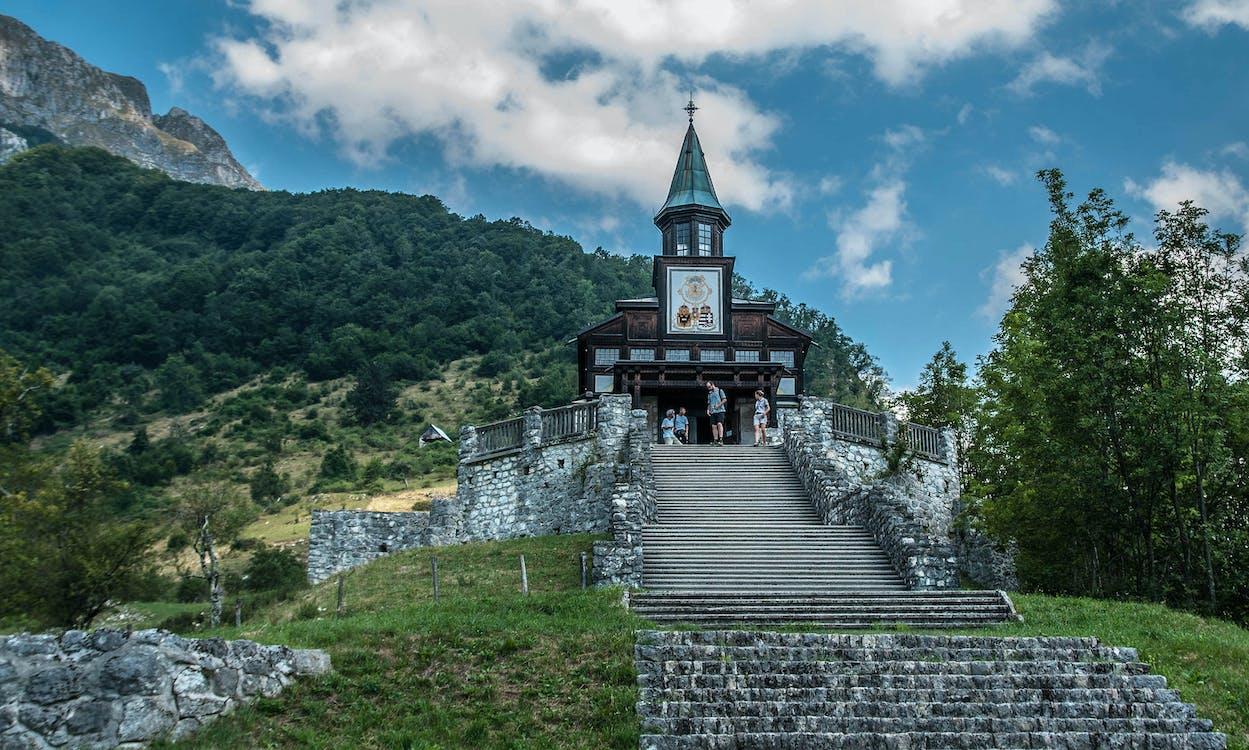 pamätná kaplnka pre padlých vojakov v roku 1917