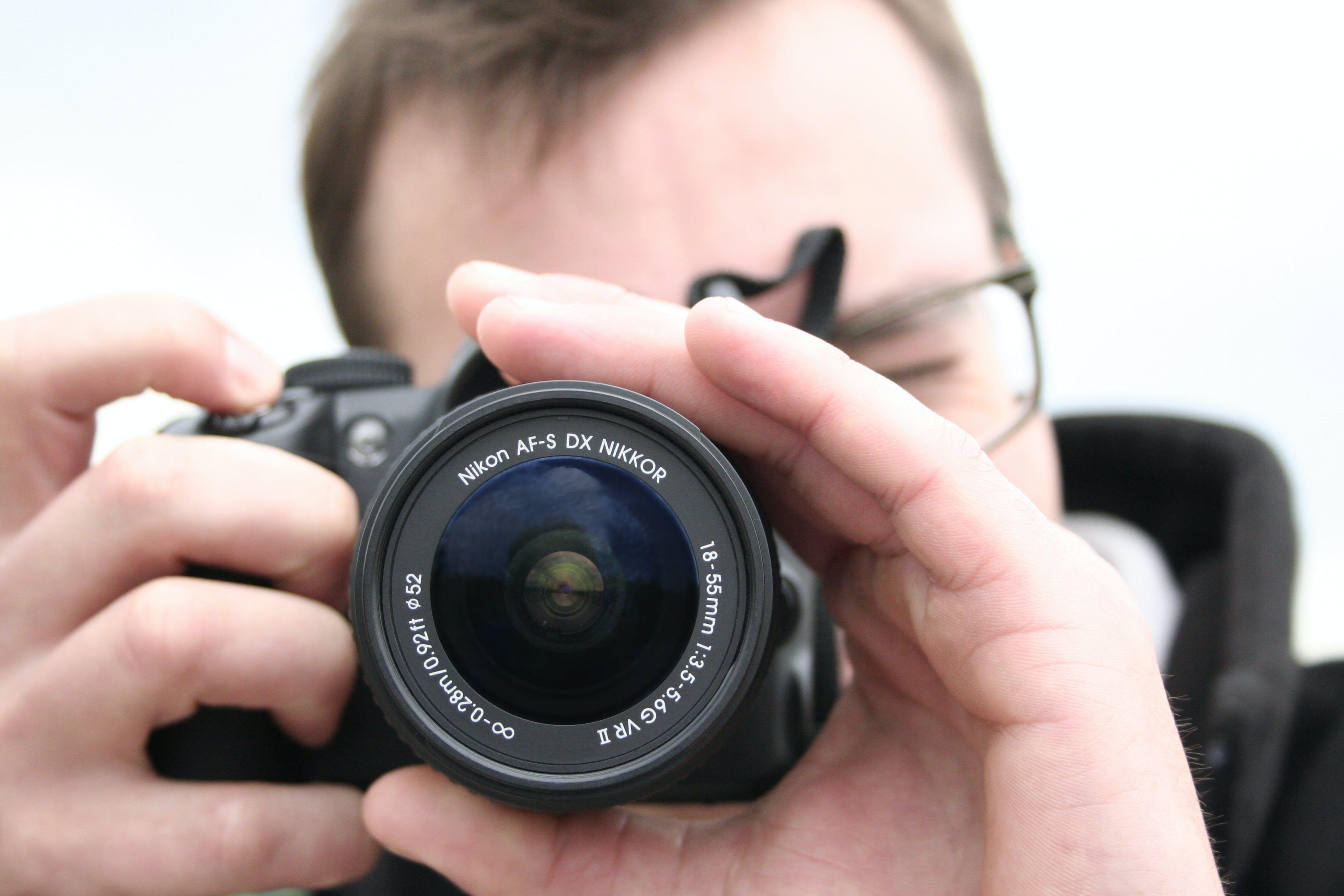 camera, digital, dslr