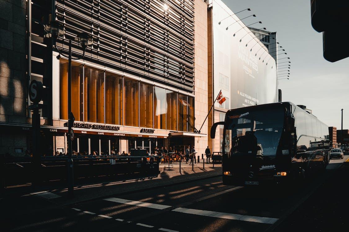 автомобіль, архітектура, будівлі