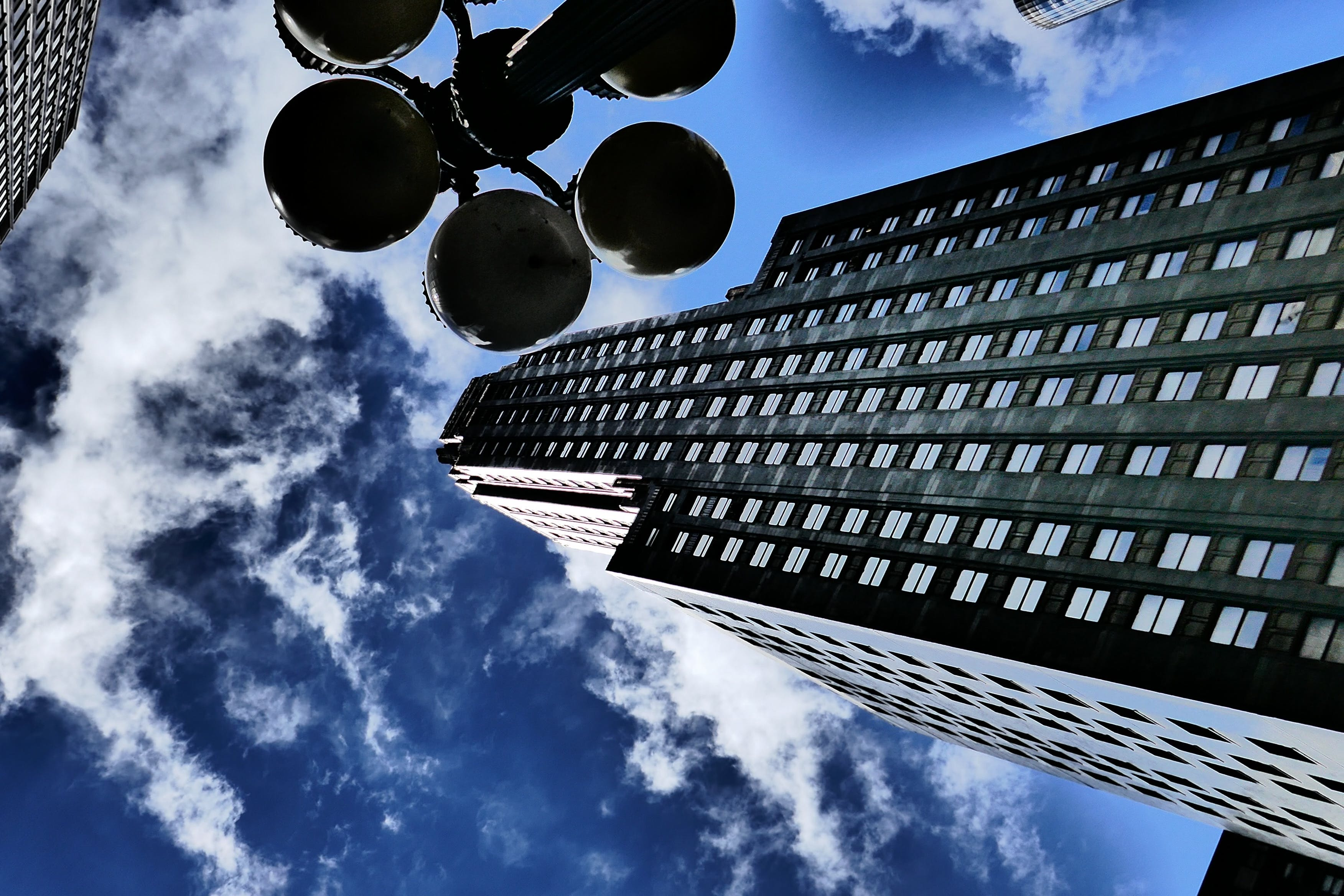 Free stock photo of america, blue sky, building, city