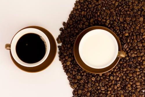 Kostenloses Stock Foto zu bohne, espresso schuss, essensfotografie, früher morgen