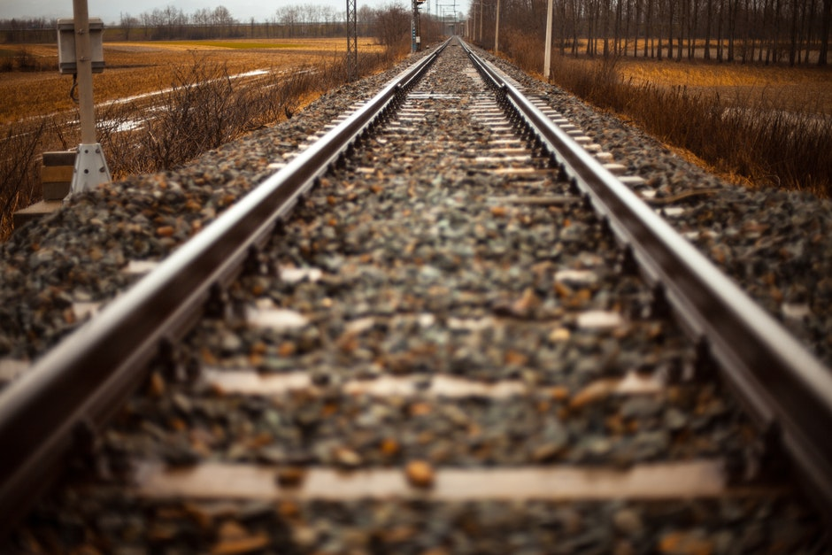 path, railroad, rails