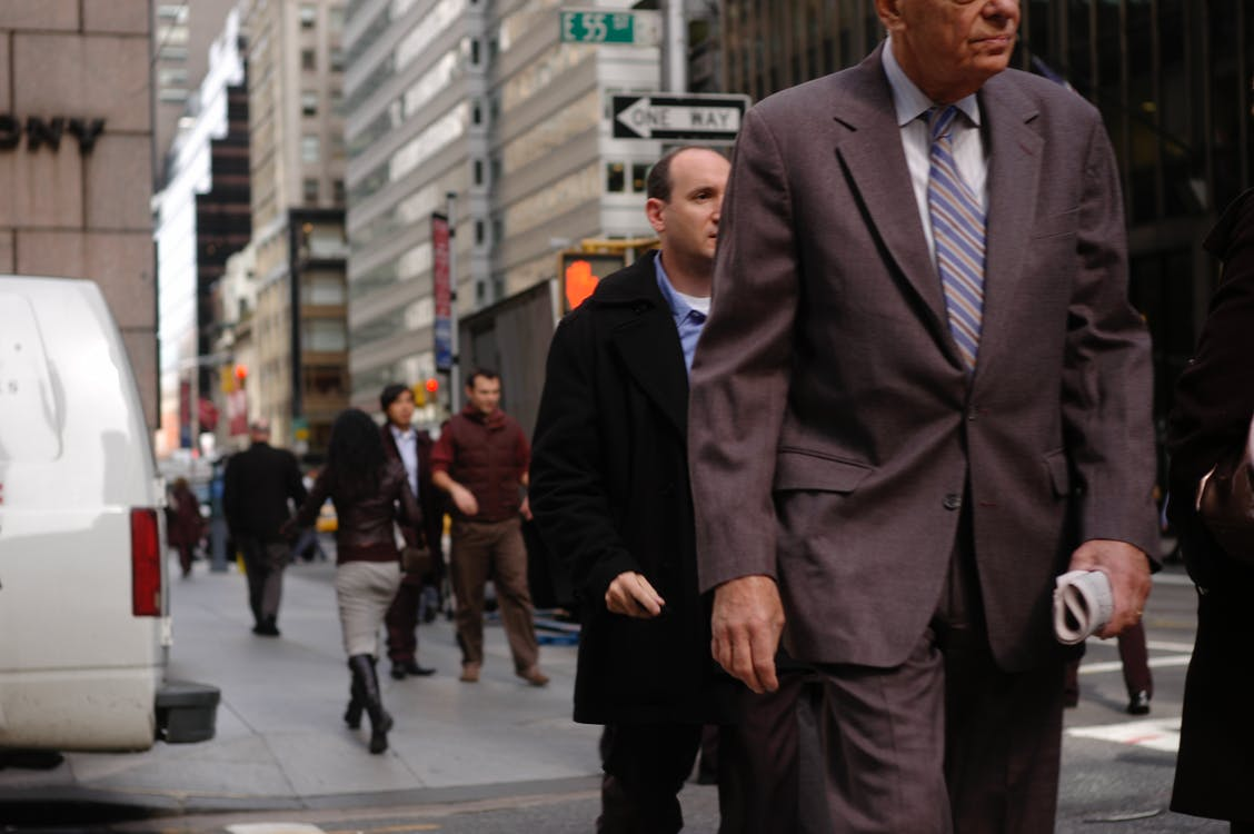 Free stock photo of office worker, suits, wall street