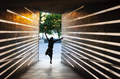 Free stock photo of jumping, rays, tunnel