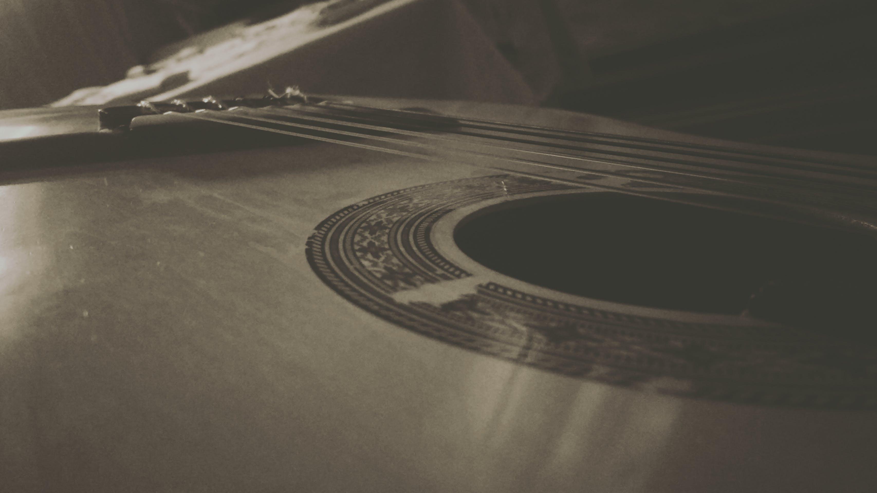 Free stock photo of classical guitar, classical music, guitare, guitarist