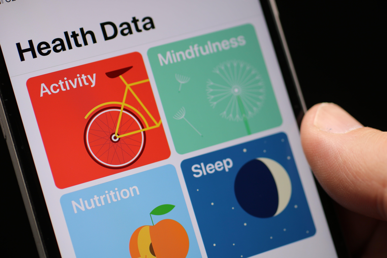 Free stock photo of activity, health, health data, iphone