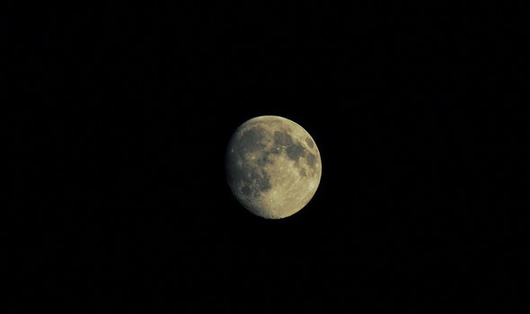 Free stock photo of space, dark, moon, round