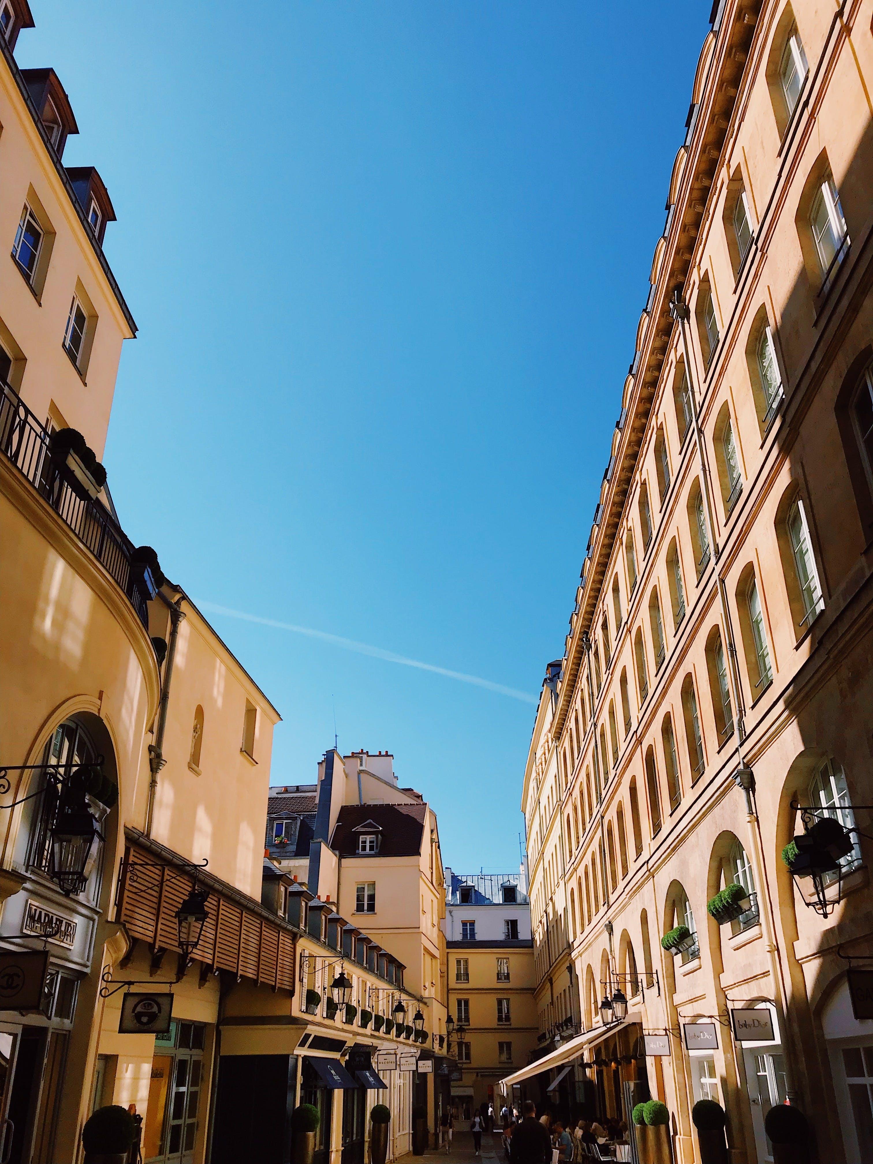 Free stock photo of blue, city, paris, sky